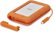 exoterikos skliros lacie stfs500400 500gb rugged thunderbolt usb c ssd photo
