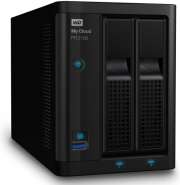 western digital wdbbcl0040jbk my cloud pro series pr2100 4tb nas gigabit ethernet x2 photo