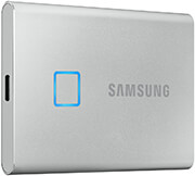 ΕΞΩΤΕΡΙΚΟΣ ΣΚΛΗΡΟΣ SAMSUNG MU-PC2T0S/WW PORTABLE SSD T7 TOUCH 2TB USB 3.2 SILVER