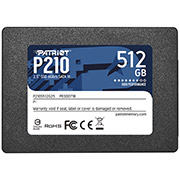 ssd patriot p210s512g25 p210 512gb 25 sata 3