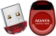 adata aud310 8g rrd dashdrive durable ud310 jewel like 8gb usb20 flash drive red photo