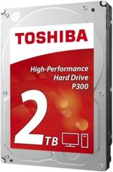 hdd toshiba hdwd120uzsva p300 2tb sata3 bulk photo
