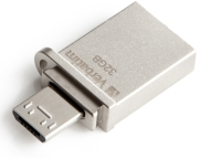 verbatim 49826 32gb store n go otg usb 30 micro drive photo