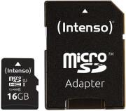 intenso 3423470 16gb micro sdhc uhs i premium class 10 sd adapter photo