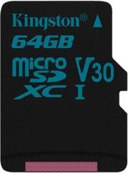kingston sdcg2 64gbsp canvas go 64gb micro sdxc class 10 uhs i u3 v30 photo