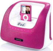 memorex portradio minimove pink ipod iphone mp3 photo