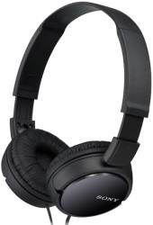 sony mdr zx110 b stereo headphones black photo