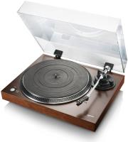 lenco l 90 wooden turntable with usb slot and built in pre amplifier photo