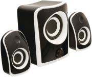 konig cs21sps100bl 21 speaker set black photo