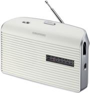 grundig music 60 portable radio white silver photo