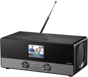 hama dir310 internet radio black photo