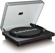 lenco l 30 wooden turntable with mmc cartridge and pc encoding black photo