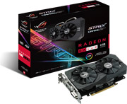 vga asus amd radeon rx460 strix rx460 o4g gaming 4gb gddr5 pci e retail photo