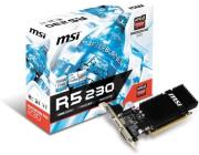 vga msi radeon r5 230 2gd3h lp 2gb ddr3 pci e retail photo