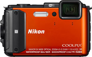 nikon coolpix aw130 orange diving kit photo