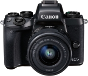 canon eos m5 kit ef m 15 45mm is stm ef adapter photo