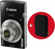 canon ixus 185 black essential kit photo