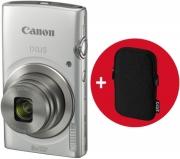 canon ixus 185 silver essential kit photo