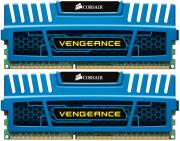 ram corsair cmz4gx3m2a1600c9b vengeance 4gb 2x2gb pc3 12800 dual channel kit blue photo