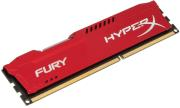 ram hyperx hx318c10fr 8 8gb ddr3 1866mhz hyperx fury red series photo