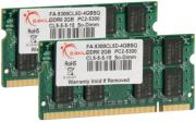 ram gskill fa 5300cl5d 4gbsq 4gb 2x2gb so dimm ddr2 pc2 5300 667mhz dual channel kit for mac photo