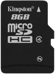 kingston sdc4 8gbsp 8gb micro sdhc class 4 no adapter photo