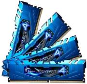 ram gskill f4 2133c15q 32grb 32gb 4x8gb ddr4 2133mhz ripjaws 4 blue quad channel kit photo