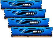 ram gskill f3 2133c9q 16gab 16gb 4x4gb ddr3 pc3 17000 2133mhz ares quad channel kit photo