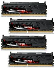 ram gskill f3 17000cl9q 16gbsr 16gb 4x4gb ddr3 pc3 17000 2133mhz sniper quad channel kit photo