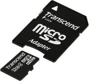 transcend ts32gusdhc4 32gb micro sdhc class 4 standard with adapter photo