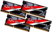 ram gskill f3 1866c11q 32grsl 32gb 4x8gb so dimm ddr3l 1866mhz ripjaws quad channel kit photo