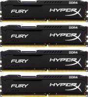 ram hyperx hx421c14fbk4 32 32gb 4x8gb ddr4 2133mhz hyperx fury black series quad channel kit photo