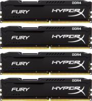 ram hyperx hx424c15fbk4 16 16gb 4x4gb ddr4 2400mhz hyperx fury black series quad channel kit photo