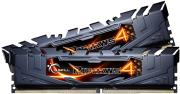 ram gskill f4 3200c16d 8grk 8gb 2x4gb ddr4 3200mhz ripjaws 4 black dual channel kit photo