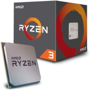 cpu amd ryzen 3 1200 340ghz 4 core with wraith stealth box photo