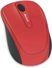 microsoft wireless mobile mouse 3500 red gloss photo