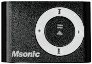 msonic mm3610k mp3 music player black slot photo