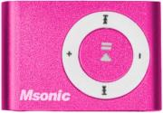 msonic mm3610p mp3 music player pink slot photo