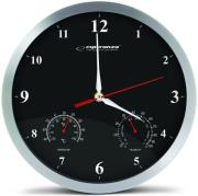 esperanza ehc008k wall clock washington black photo