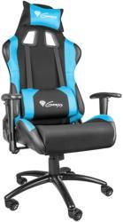 genesis nfg 0783 nitro 550 gaming chair black blue photo