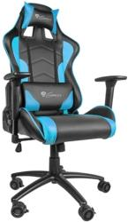 genesis nfg 0786 nitro 880 gaming chair black blue photo