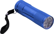esperanza eot004m mini aluminum led torch altair blue photo
