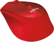 logitech m330 silent plus wireless mouse red photo