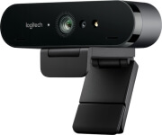 logitech brio 4k ultra hd webcam with hdr and rightlight 3