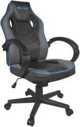 fury nff 1353 avenger s gaming chair black grey photo