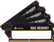 RAM CORSAIR CMSA64GX4M4A2666C18 MAC MEMORY 64GB (4X16GB) SO-DIMM DDR4 2666MHZ QUAD KIT