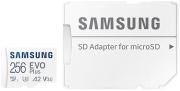 samsung mb mc256ka eu evo plus 256gb micro sdxc 2021 uhs i u3 v30 a2 adapter photo