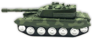 rc tank 1 18 with light 4 channel landcorps green
