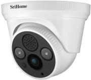 srihome sh030b dome camera poe 1296p night vision photo