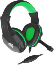 genesis nsg 1435 argon 100 stereo gaming headset green photo